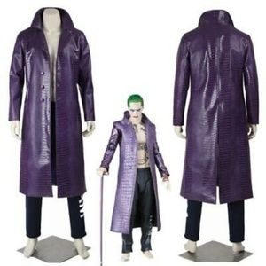 Suicide Squad Jokers Cos-Play 2 pc + Accessories